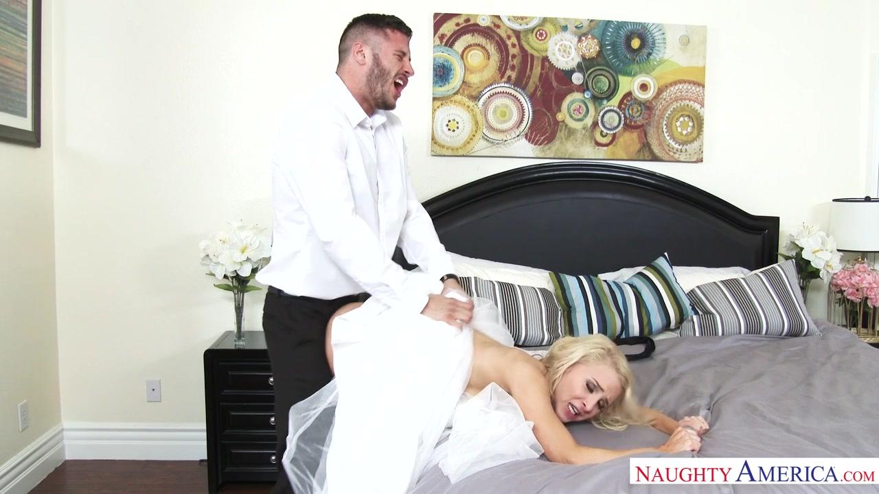 Подарил красивой невесте в свадебном платье сеанс грязного секса в ...